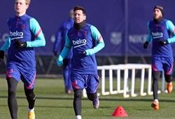 Messi có chơi trận chung kết đầu tiên trong năm với Barca?