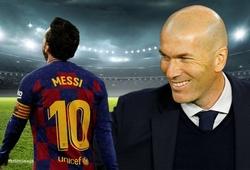 Tại sao HLV Zidane luôn là nỗi ám ảnh cho Messi?