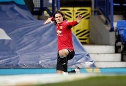 Chiêm ngưỡng Cavani ghi bàn đẹp mắt đưa MU vào bán kết Cúp Liên đoàn