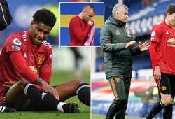 MU hứng chịu 3 chấn thương sau trận thắng Everton