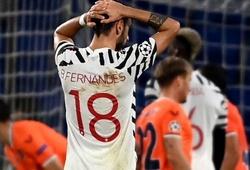 Bruno Fernandes có số lần mất bóng khó tin trong thất bại của MU