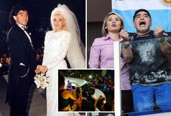 """Người tình cũ của Maradona rơi nước mắt sau khi bị """"cấm cửa"""""""