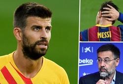 Pique gây bão khi chỉ trích BLĐ Barca và ủng hộ Messi