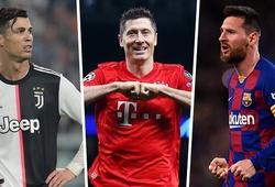 Lewandowski được đặt cửa đoạt Quả bóng vàng cao hơn Messi và Ronaldo