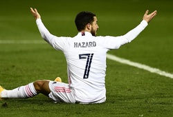 Hazard gây thất vọng với thống kê tồi tệ khi Real thua Bilbao
