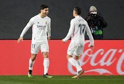Real Madrid là chuyên gia giành điểm trước tốp đầu La Liga