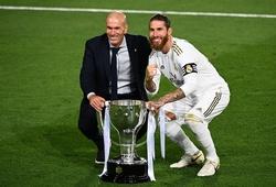 Kỷ lục kinh ngạc của Zidane giúp Real Madrid vô địch La Liga 2020