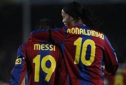 Ronaldinho sẽ là hàng xóm của Messi