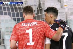 Ronaldo mách nước thủ môn Juventus bắt phạt đền chống Immobile