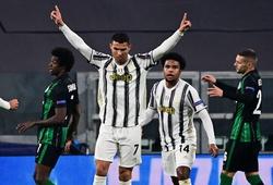 Ronaldo đi vào lịch sử Champions League sau Messi và Benzema