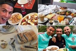 Tiết lộ chi tiết về chế độ ăn uống khác... người thường của Ronaldo