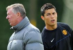 Ronaldo từng phản ứng thế nào khi bị Sir Alex hét vào mặt?