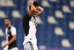 Ronaldo hết hy vọng ghi thêm bàn sau tuyên bố của HLV Juventus