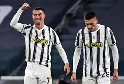 Ronaldo ghi bàn chưa từng thấy với Juventus