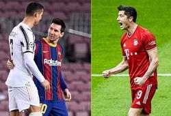 Cristiano Ronaldo ghi nhiều bàn thắng thứ hai trong năm 2020
