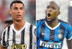 Cristiano Ronaldo kém xa Lukaku về giá trị tại Serie A