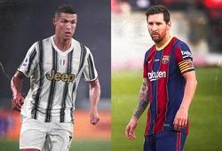 Messi lần đầu giáp mặt Ronaldo sau kết quả bốc thăm Champions League