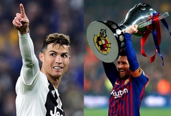 5 cột mốc mà Messi có thể không bao giờ đạt tới như Ronaldo