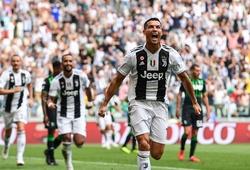 Ronaldo và các tiền đạo Juventus ghi bao nhiêu bàn trước Sassuolo?