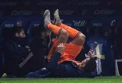 Cristiano Ronaldo được thay ra ghế dự bị vẫn… tập luyện