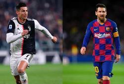 Messi và Ronaldo là tiền đạo được đề cử cho Đội hình trong mơ