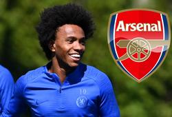 Chelsea cay đắng chứng kiến Willian đồng ý đến Arsenal