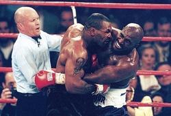 Mike Tyson không phải tay đấm lực nhất từng đấu Evander Holyfield