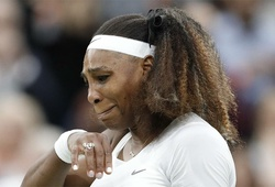 Kết quả tennis Wimbledon mới nhất: Serena Williams nghẹn ngào bỏ cuộc!
