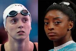 Các mỏ vàng Olympic Simone Biles và Katie Ledecky: Cảm giác lo lắng ảnh hưởng đến thành tích như thế nào?