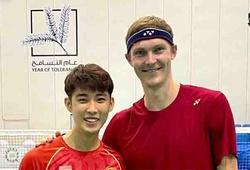 Viktor Axelsen biến Dubai thành nơi tập luyện cầu lông hấp dẫn
