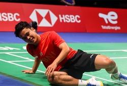 Kết quả cầu lông Đan Mạch mở rộng 20/10: Tay vợt nam số 1 Indonesia Ginting bị loại đau