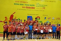 Kết quả giải vô địch bóng bàn toàn quốc: Mai Hoàng Mỹ Trang ngược dòng kỳ diệu