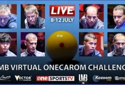 Trực tiếp bán kết giải carom 3 băng UMB Virtual OneCarom Challenge 2020 ngày 11/7