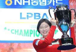 Cơ thủ bi-da xinh đẹp Hàn Quốc Mi-rae Lee vô địch giải thứ 3 của PBA
