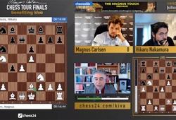 Kết quả chung kết giải cờ vua Magnus Carlsen Tour Finals ngày 15/8: Vua cờ gỡ hòa