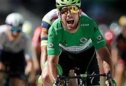 Cavendish bắt kịp kỷ lục đua xe đạp của Merckx tại Tour de France