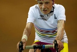 Nước Pháp mất ông cụ giữ các kỷ lục thế giới về xe đạp người cao tuổi