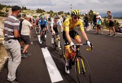 Áo vàng Pogacar hú vía khi Wout Van Aert thắng chặng 11 cuộc đua xe đạp Tour de France