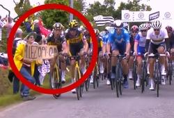 Alaphilippe mặc áo vàng đầu tiên khi khán giả quậy gây tai nạn ở giải đua xe đạp Tour de France 2021