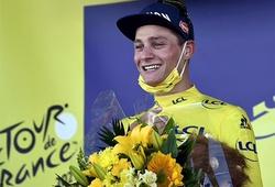 """Mathieu van der Poel """"xé"""" áo vàng Tour de France"""