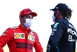 Leclerc lần thứ 2 chiếm pole trong ngày F1 rối loạn
