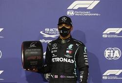 Kết quả đua F1  Bahrain Grand Prix: Lewis Hamilton lại lập kỷ lục chiếm pole