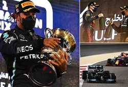 Hamilton thắng sít sao Verstappen ở giải mở màn F1, Mazepin biến thành trò cười do không hoàn thành nổi 1 vòng đua!