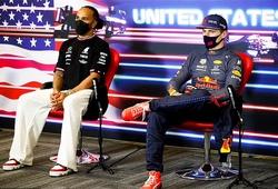 Kết quả F1 Grand Prix Mỹ mới nhất 25/10:Kém Verstappen 12 điểm, Hamilton thấy không ổn