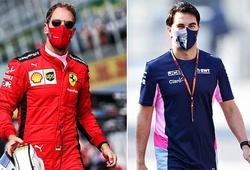 Sebastian Vettel bất ngờ có cơ hội tiếp tục đua F1 do Sergio Perez rời Racing Point