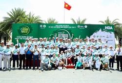 """Khai mạc giải Golf VĐ TPHCM Mở rộng: Trần Lê Duy Nhất có ngay """"hole in one"""""""