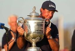 """Golf đúng là môn """"đại gia"""": Điểm qua tiền thưởng """"khủng"""" của Phil Mickelson và tổng tiền thưởng của PGA Championship!"""