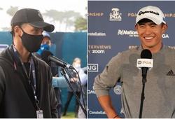 Stephen Curry nhập vai phóng viên golf và cái kết!