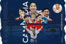 """Campuchia xác định 6 """"mỏ vàng"""" ở SEA Games 31"""