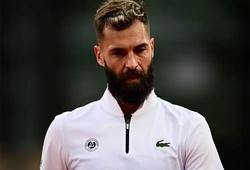 """Benoit Paire làm mất mặt dân Pháp: Đấu tennis kiểu """"cơm gạo"""", kiếm được tí tiền liền về!"""